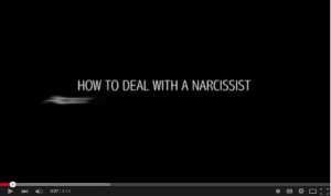 YouTube Screen Ho to deal with a narcissist