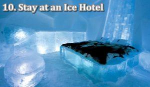 10 ice hotel