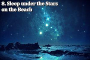 8 stars and beach